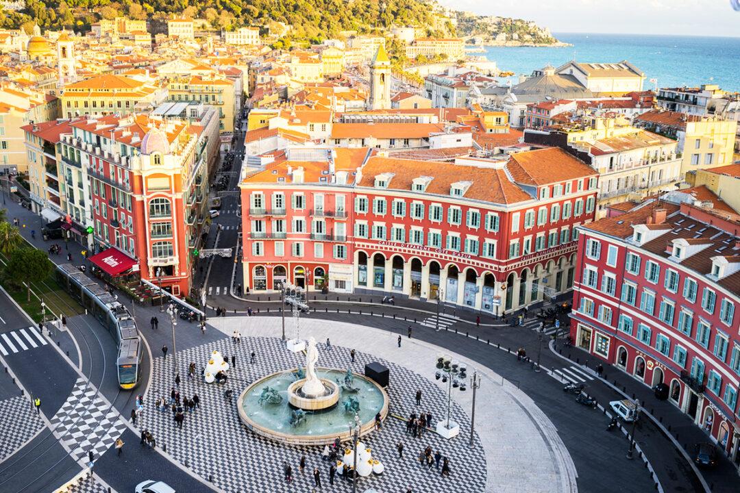 Nice-França: Local de artes e belezas